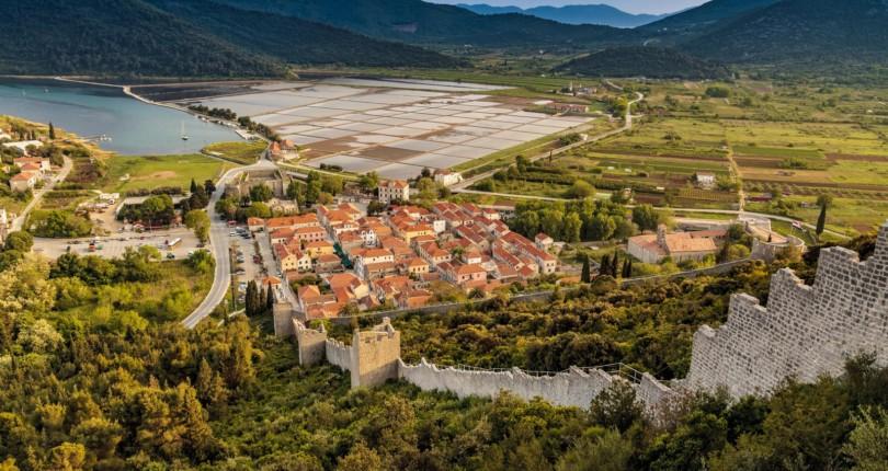 Hrvaška obzidana mesta