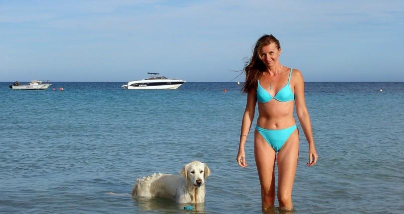S psom na dopust