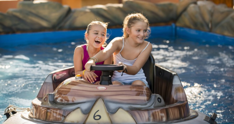 Fun park Biograd, atrakcija na morju
