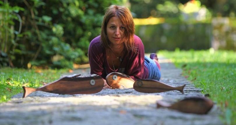 Alenka Riba, unikatna ribja umetnica