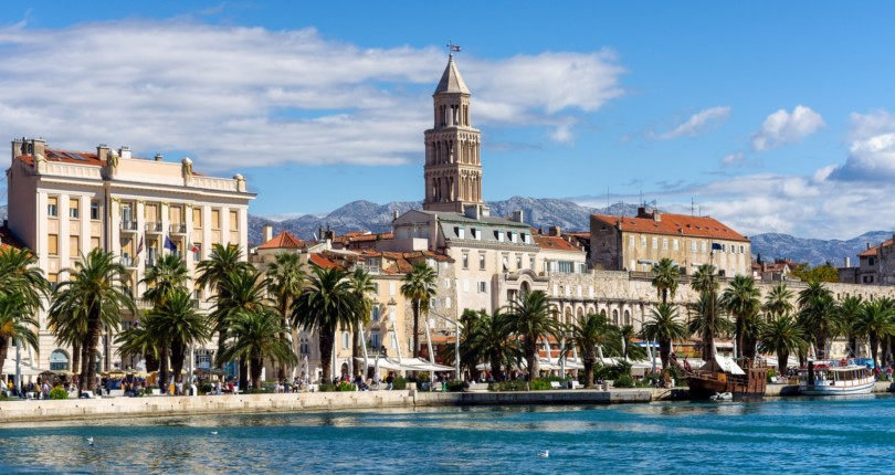 Split, mesto cesarja Dioklecijana