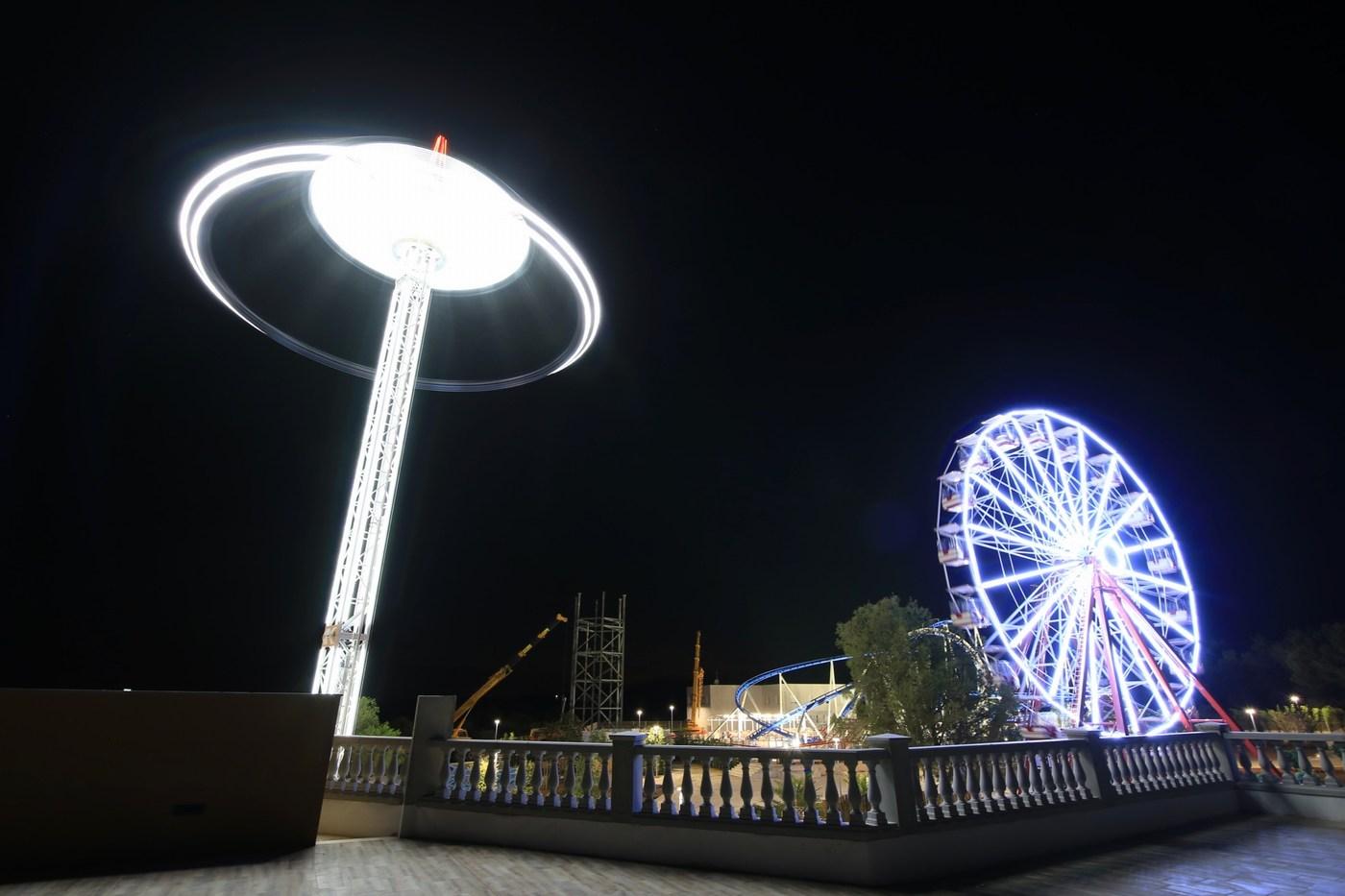 Zabaviščni park naj bi se v prihodnjih letih, če bo uspešno posloval, še širil. Dogradili naj bi aquapark, vodno mesto.