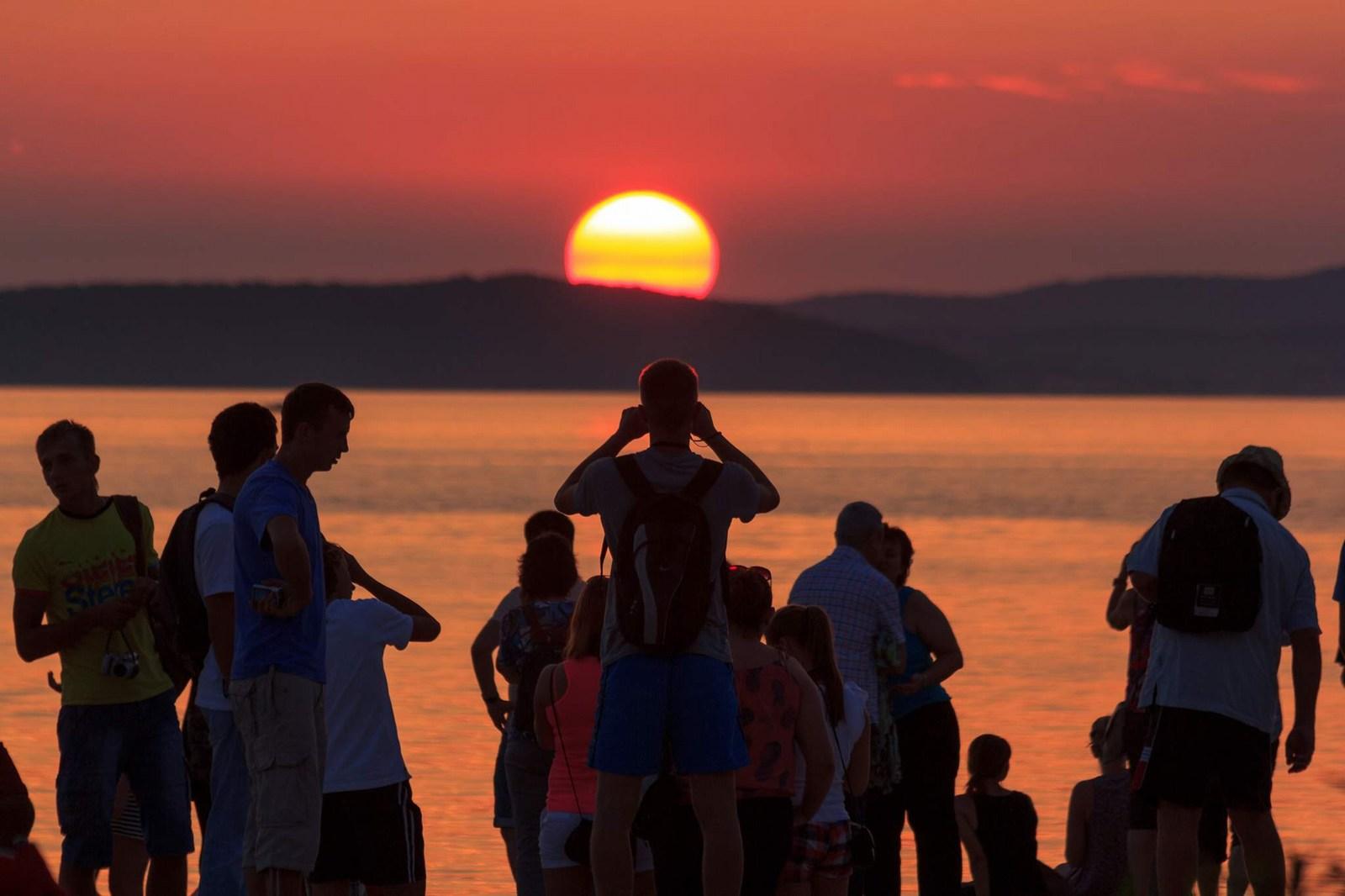 Zadar se ponaša z najlepšimi sončnimi zahodi … Foto: HTZ in Mladen Radović Mrlja.