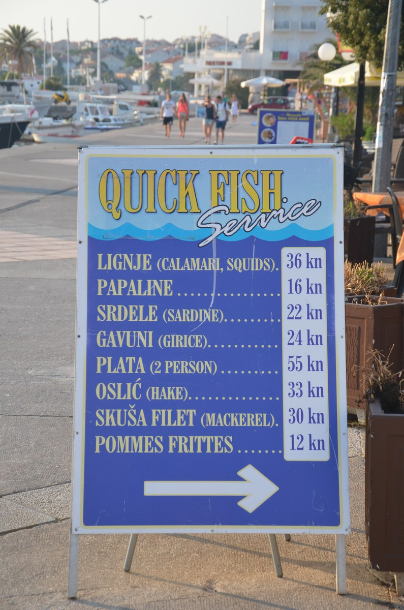 Ribe se da dobiti tudi za solidno ceno.