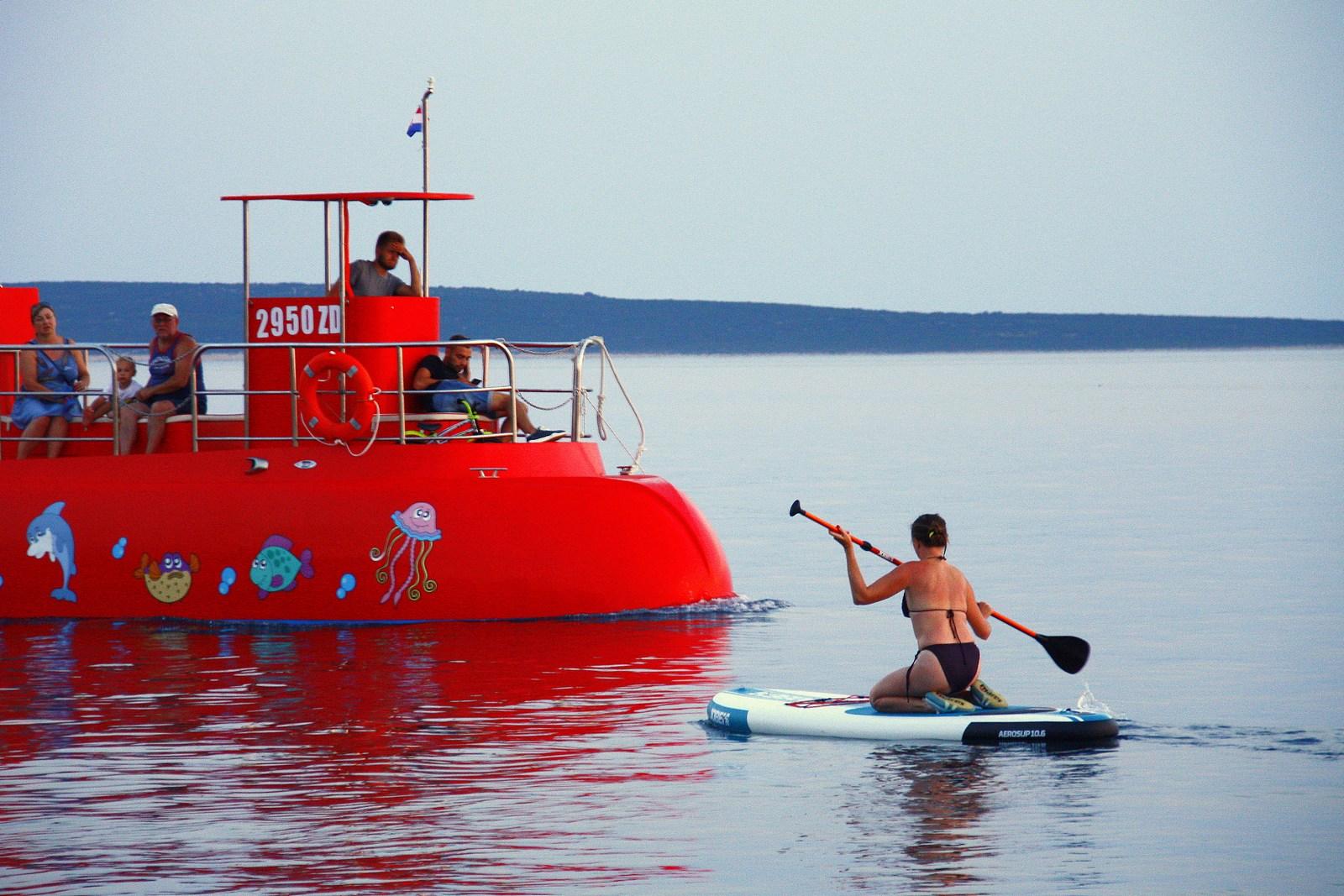 Podmornica sreča sup. Suparko. :-)