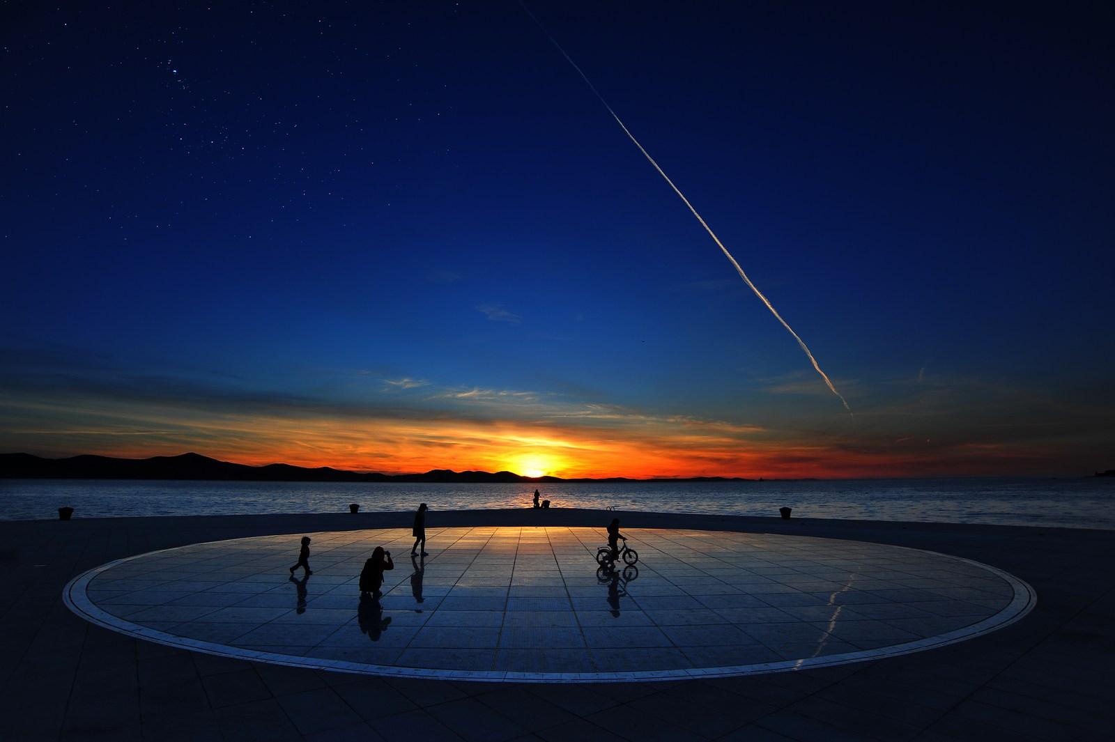 Sončni zahod. Foto: HTZ in Tim Ertl.