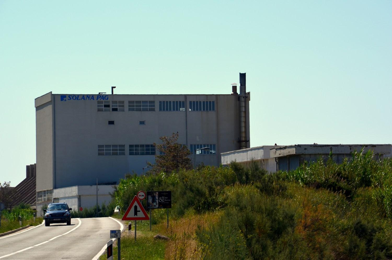 """""""Solana Pag"""", torej paška tovarna soli, se nahaja južneje od samega mesta Pag."""
