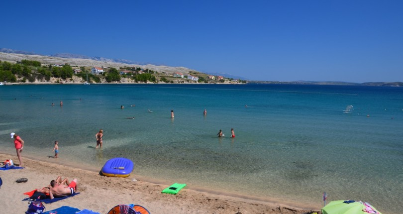 Plaže na Pagu – 1. del
