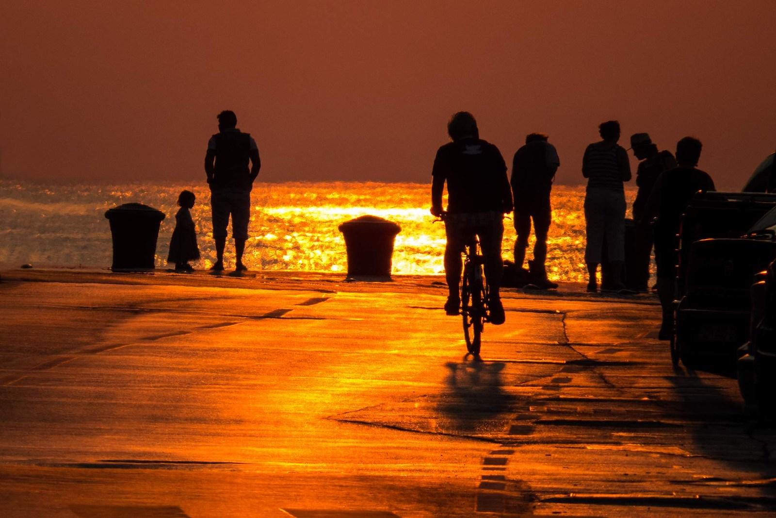 Sonce je padlo v morje. Foto: HTZ in Mladen Radolović Mrlja.