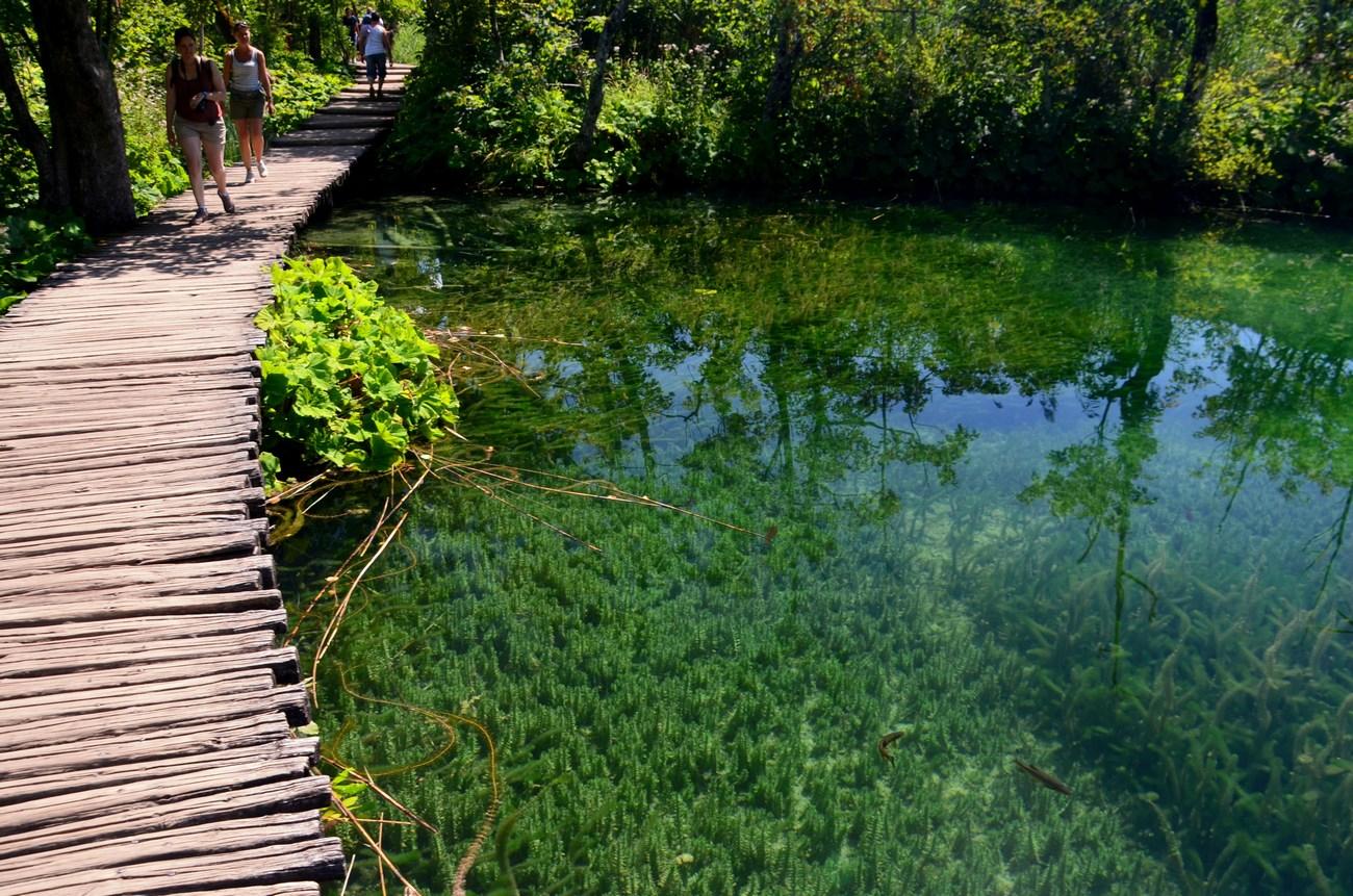 """Jezera se delijo na """"Gornja in Dolnja jezera""""."""