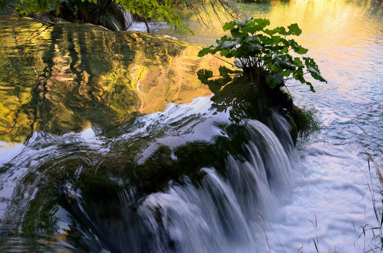 Plitvička jezera so hrvaški narodni park že od leta 1949.
