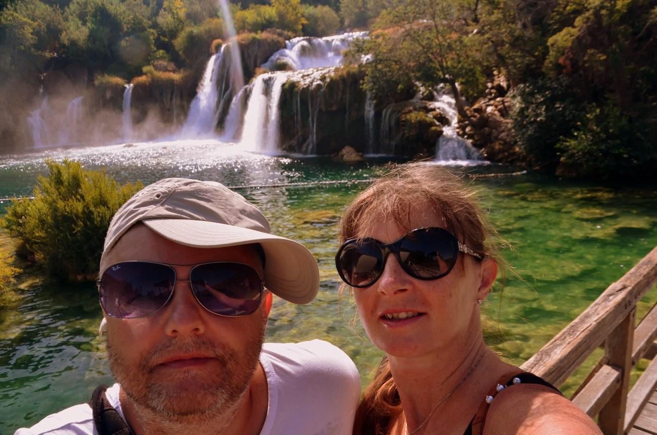 Selfie z ozadjem Skradinskega buka je obvezen. :-)