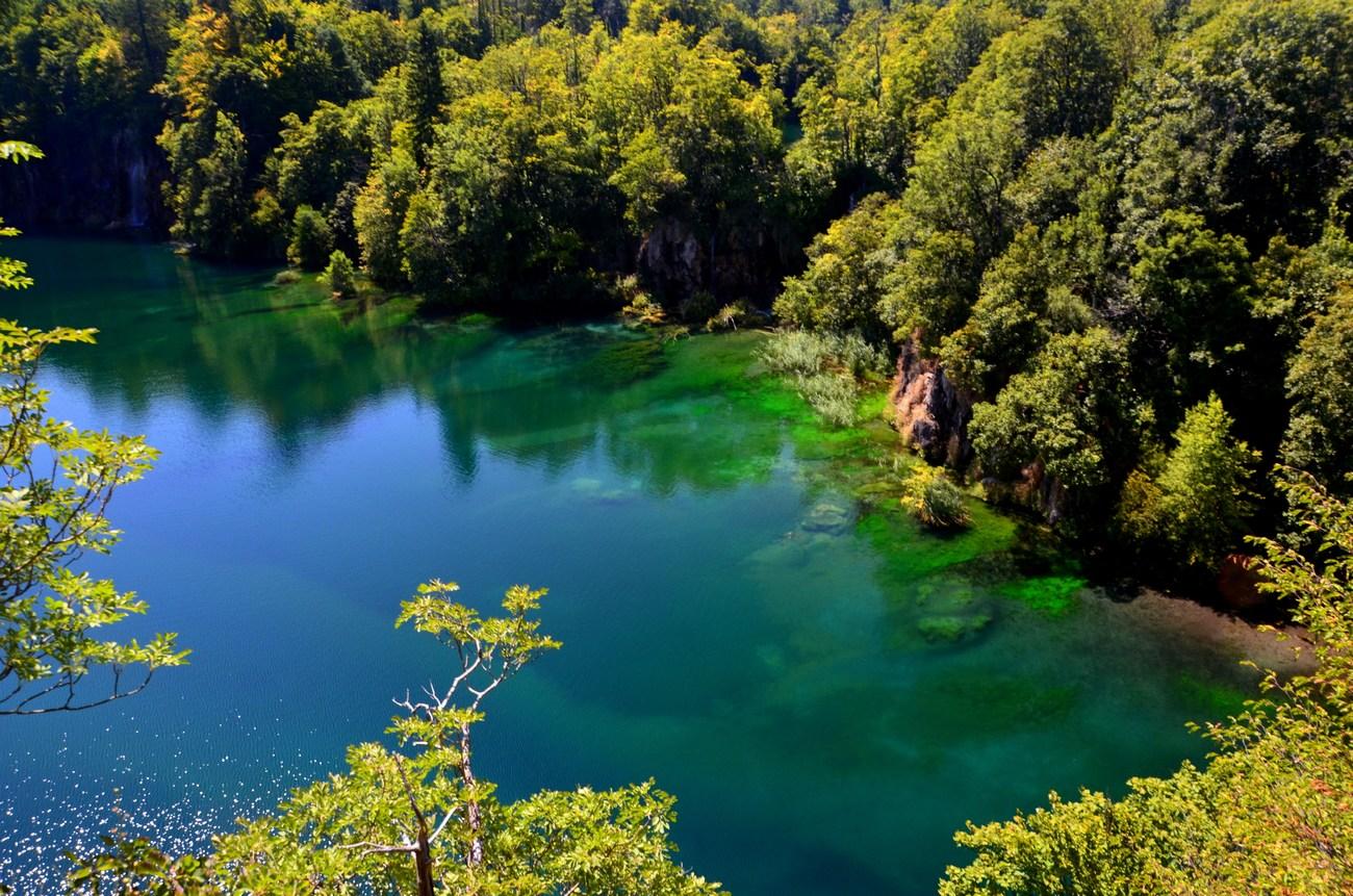 Ljubljana je od Plitvičkih jezer oddaljena nekaj čez 200 kilometrov.
