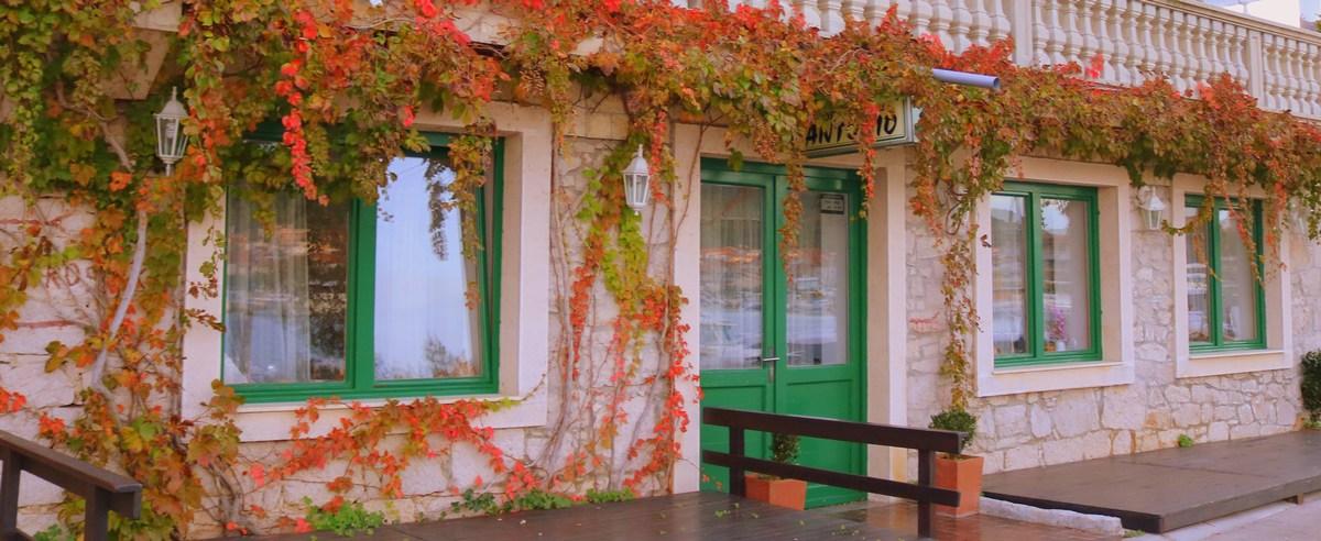 Barve, rože na fasadi
