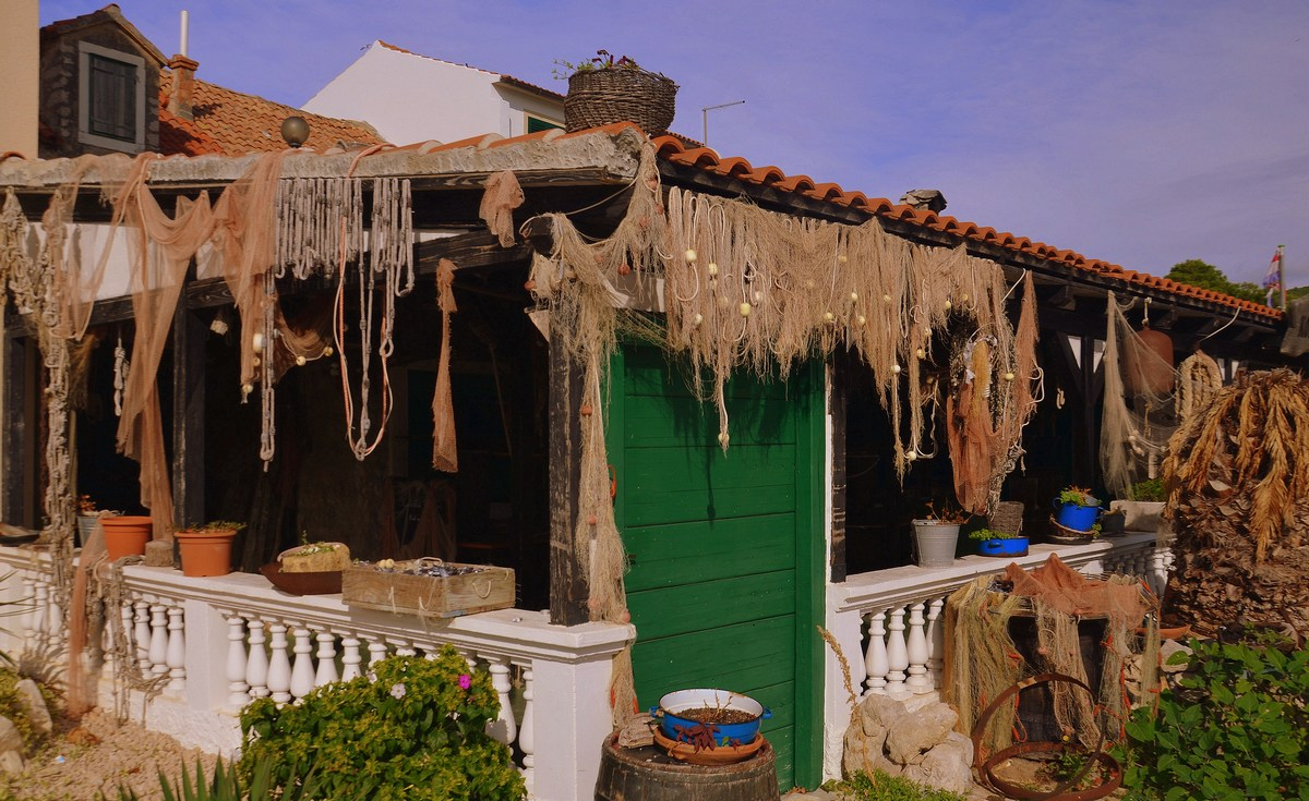 Ribič, ribiška hiša