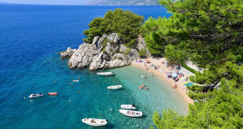 Najbolj romantične plaže na Hrvaškem