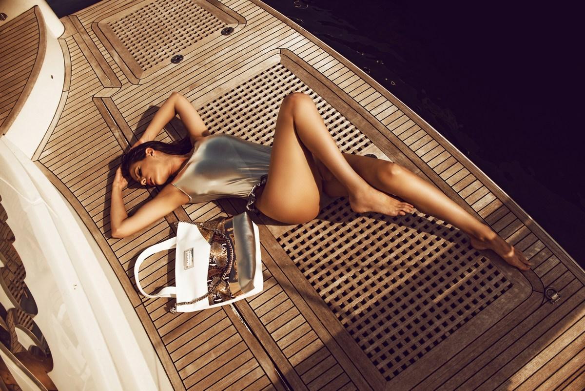 Sabina Remar na morju