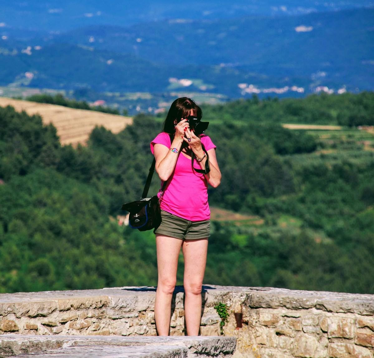Turistka fotografinja