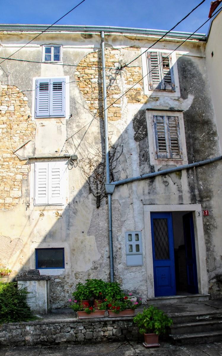 Hiše v Motovunu