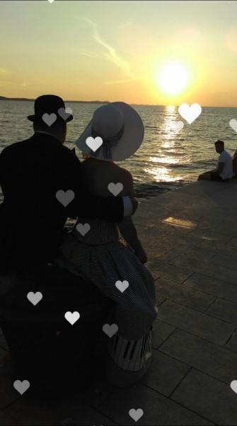 romantika v zadru