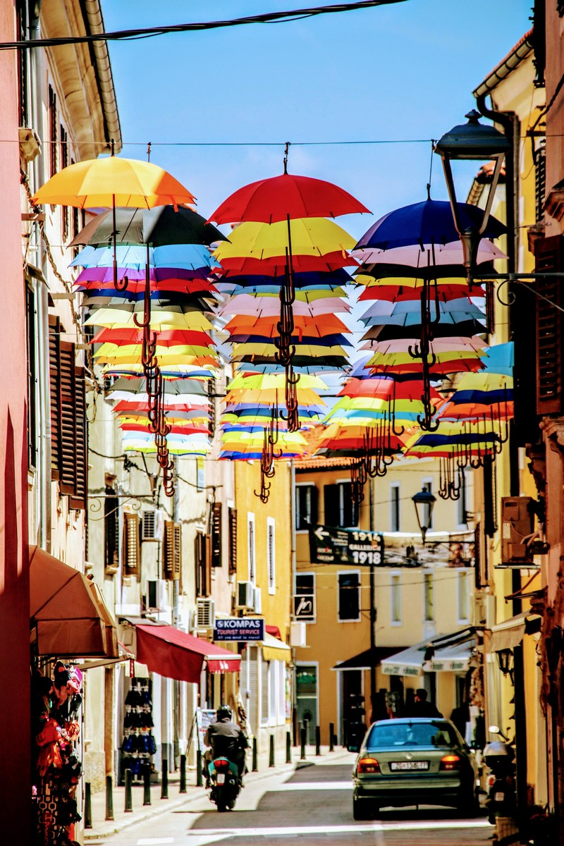 Ulica dežnikov
