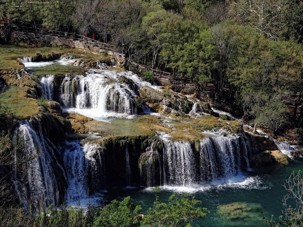 Prekrasni slapovi Krke