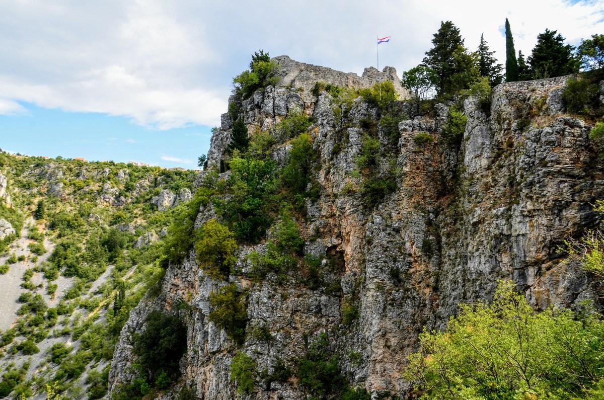 Tam, kjer je zastava je vrh trdnjave