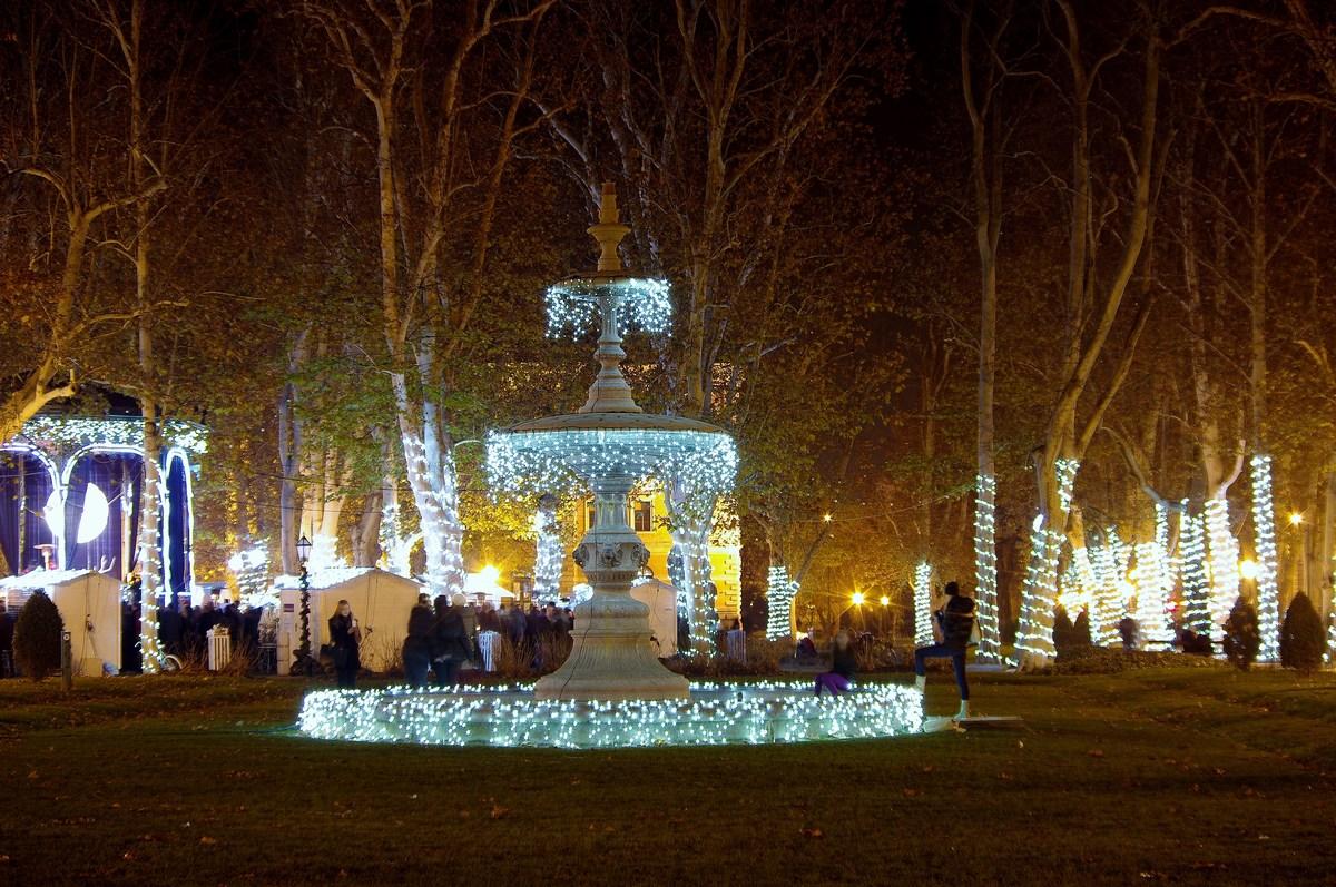 Advent in park. Zrinjevac. Foto I. Vinković