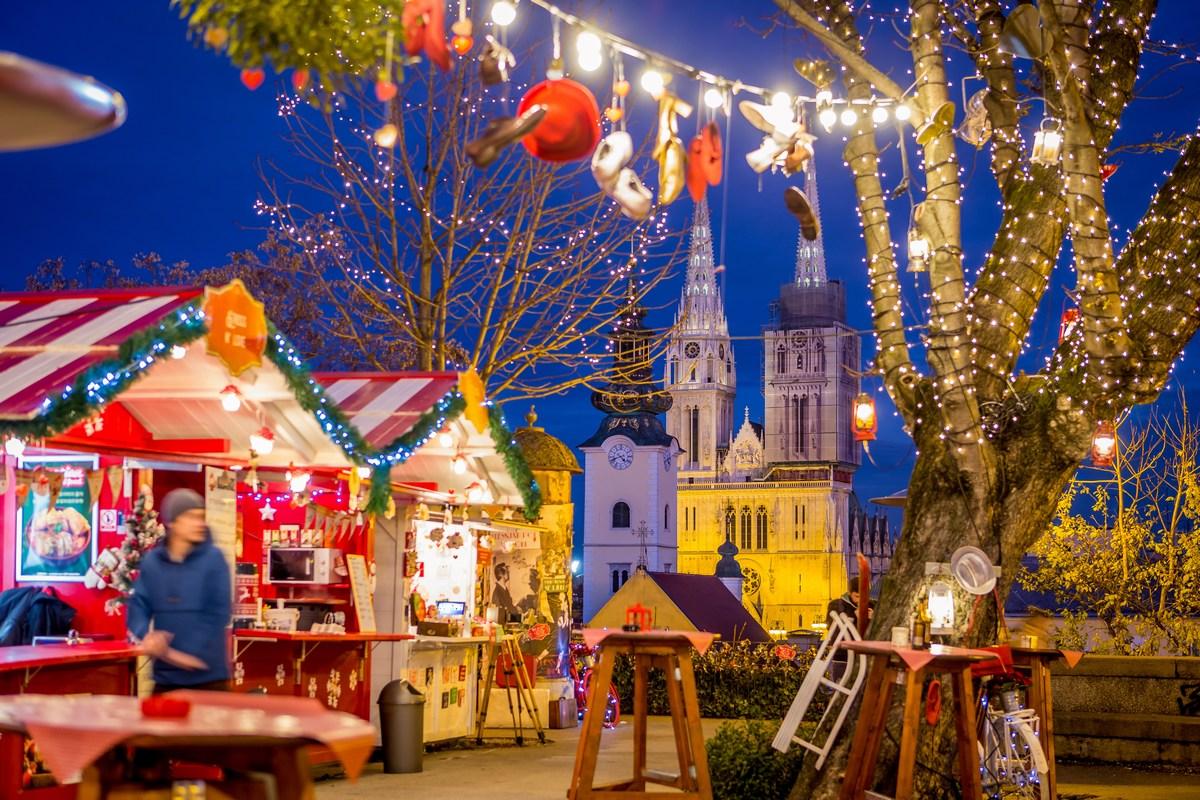 Advent v Zagrebu. Foto J. Duval