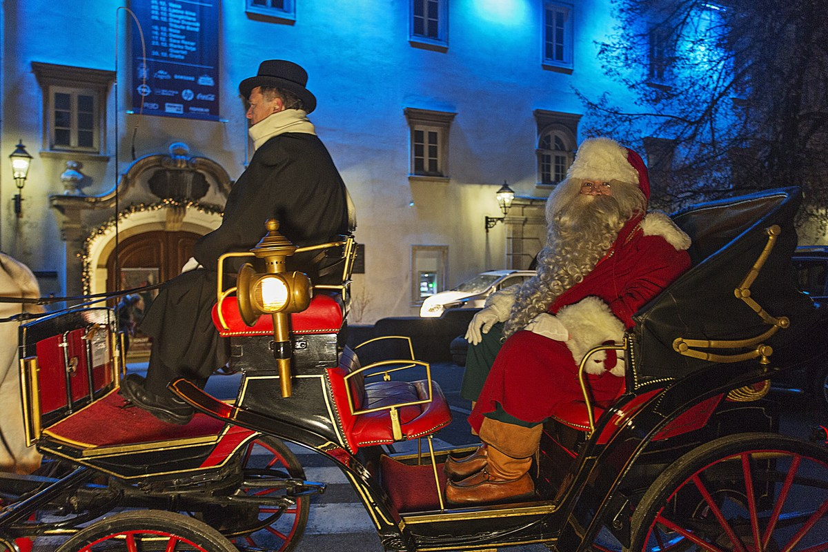 Dedek Mraz. Foto M. Vrdoljak