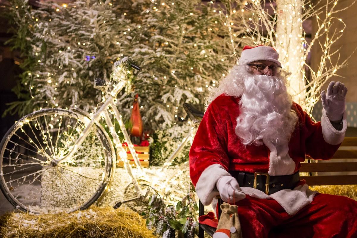 Santa Claus v Zagrebu. Foto J. Duval