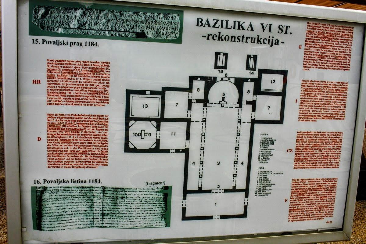 Bazilika, načrt