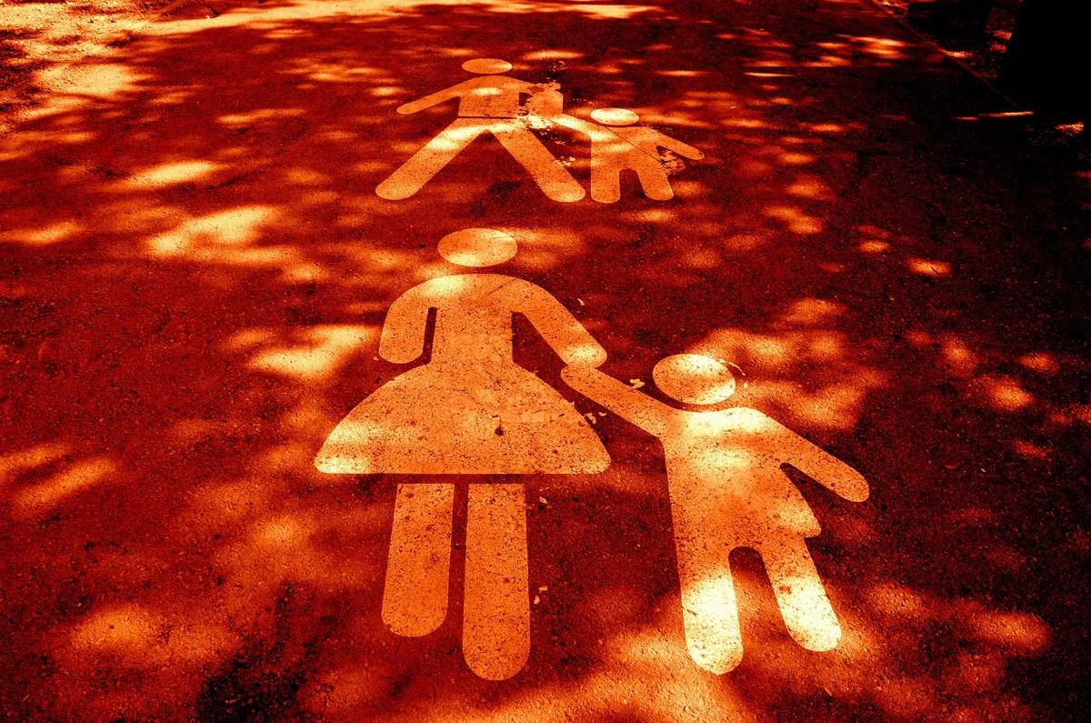 Družina na cesti