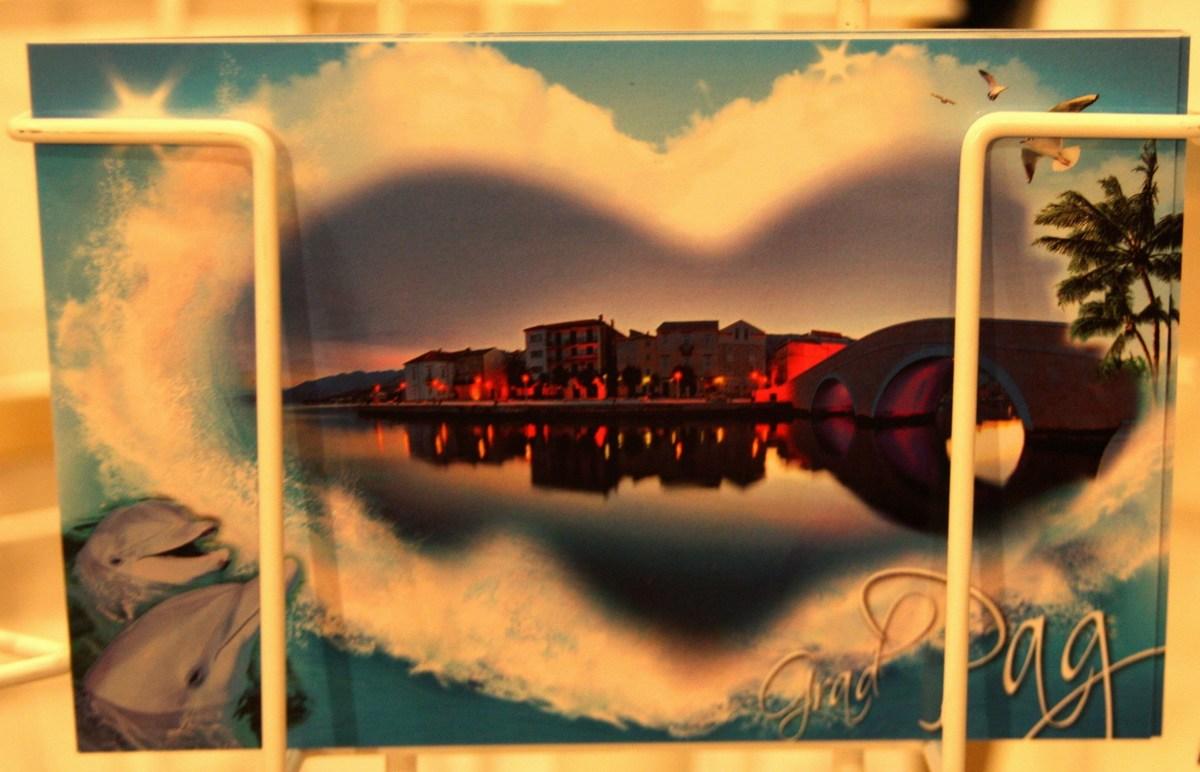 Razglednica poslana s srcem
