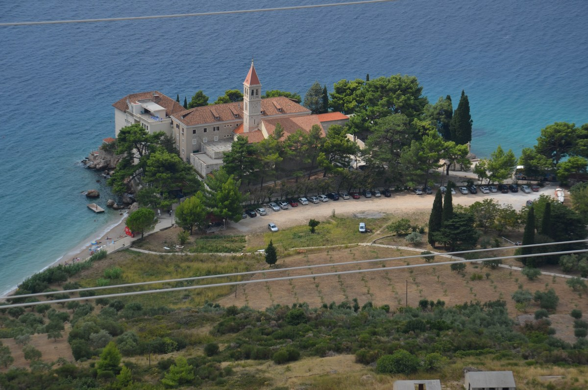 Pogled na dominikanski samostan