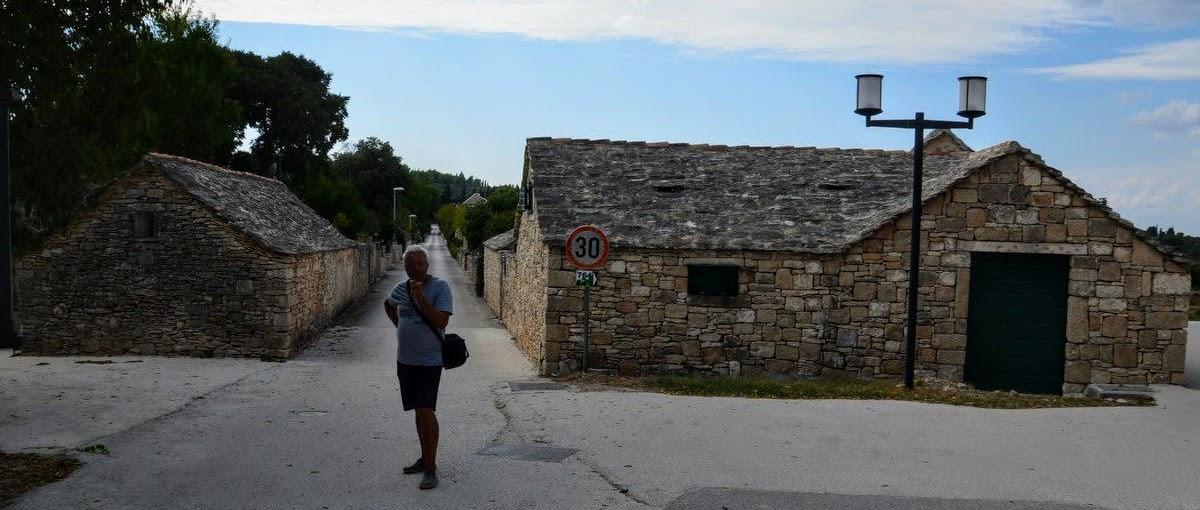 Turist v Škripu