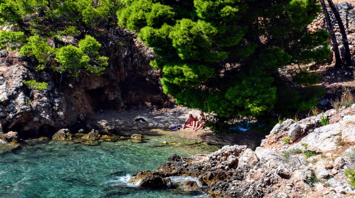 Zlahka se najdejo tudi samotne plaže