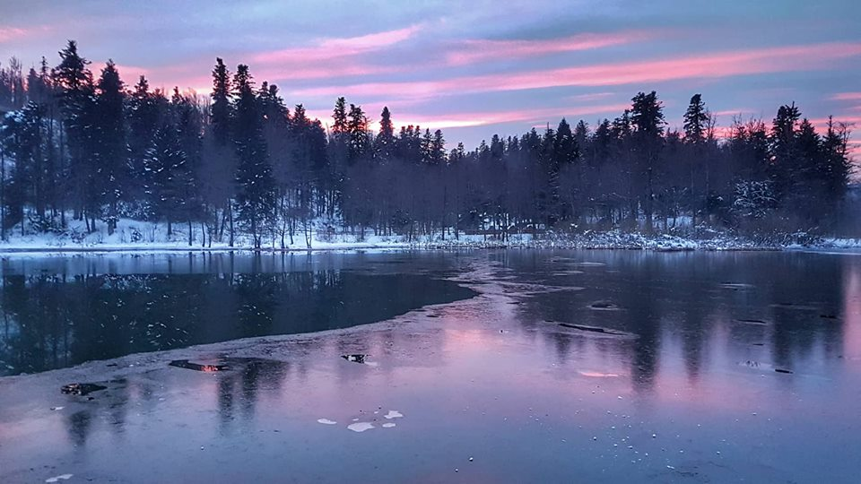 Fužine, jezero