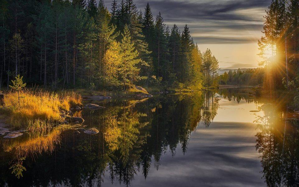 Prekrasne barve jezera