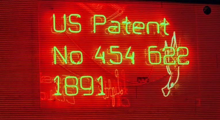 Tesla je prijavil številne patente