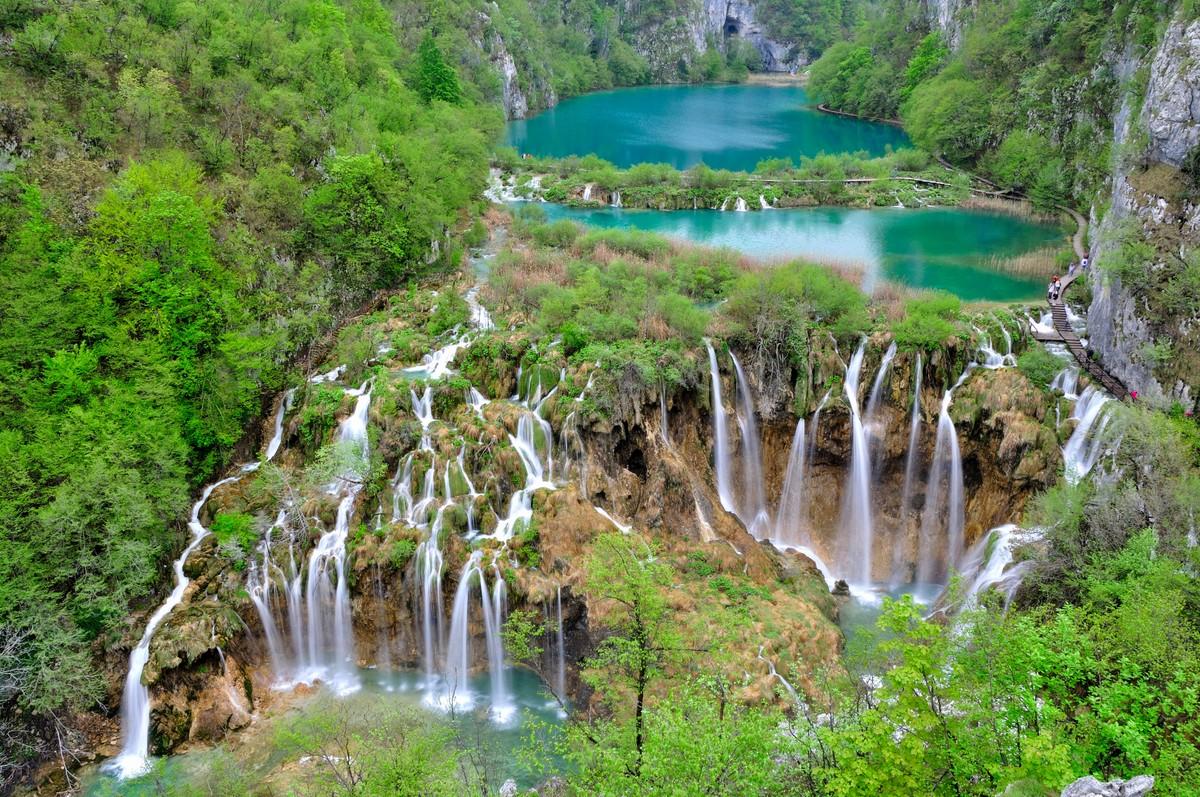Plitvička jezera, hrvaški turistični diamant