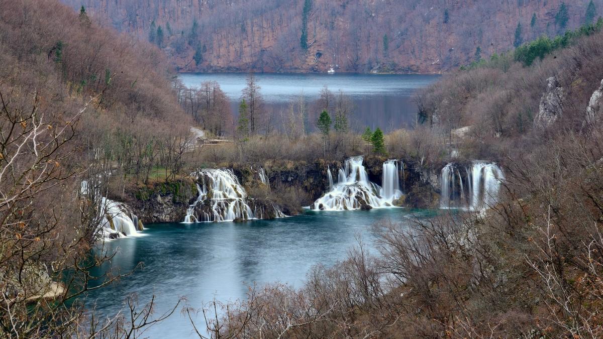 Milanovački slapovi na Donjim jezerima
