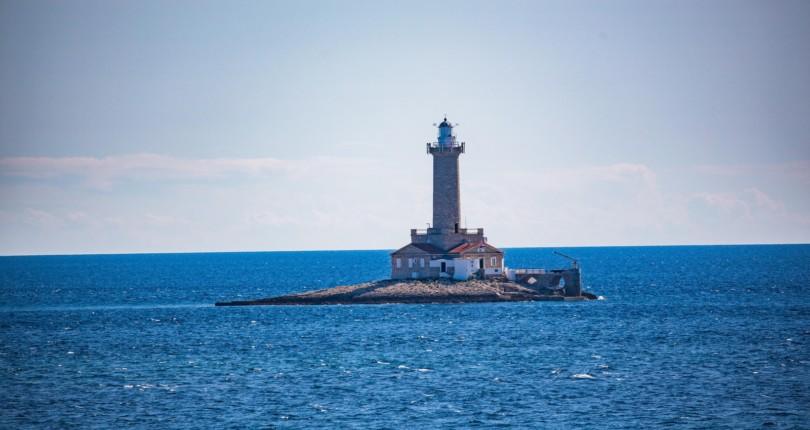Top 5 svetilnikov na Hrvaškem