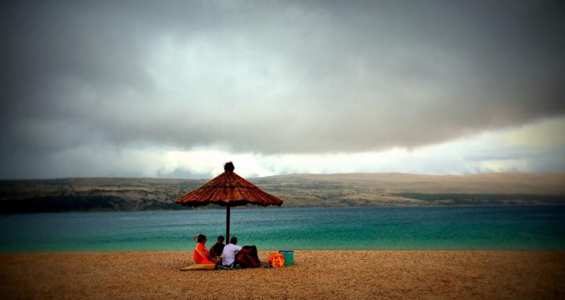 Vreme in otok Pag