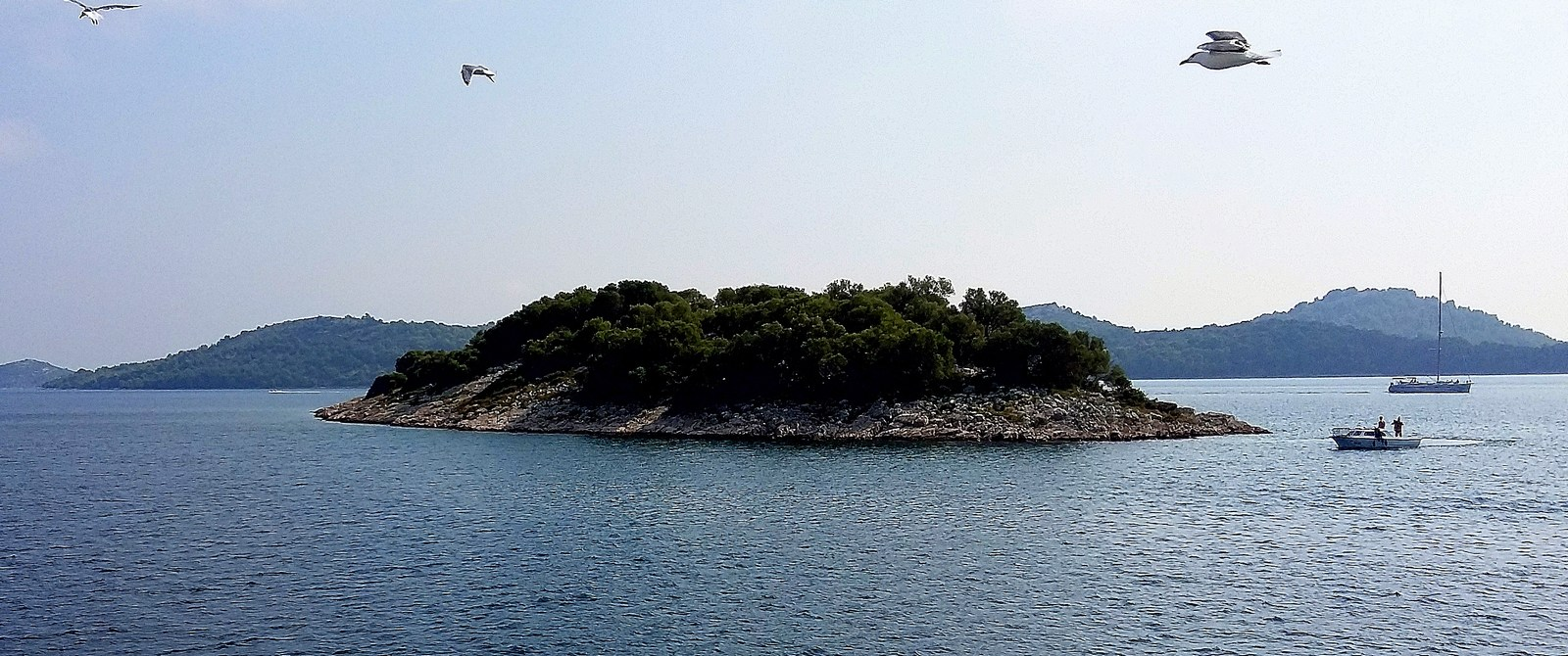 Otok, pogled iz Vodic