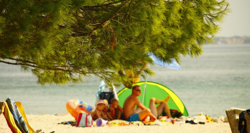 Vir, majhen otok – krasne plaže