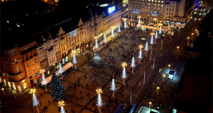 Zagreb, glavno mesto Hrvaške