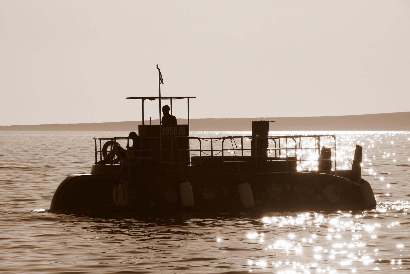 Popolni užitki na krovu turistične ladje.