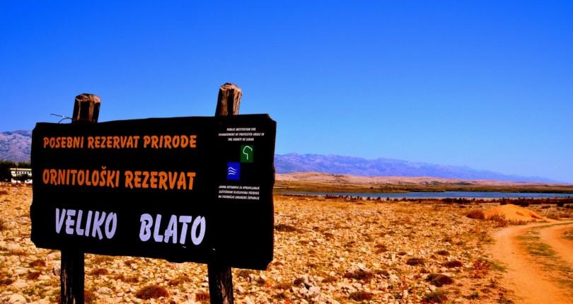 Velo in Malo Blato – krasen ornitološki rezervat