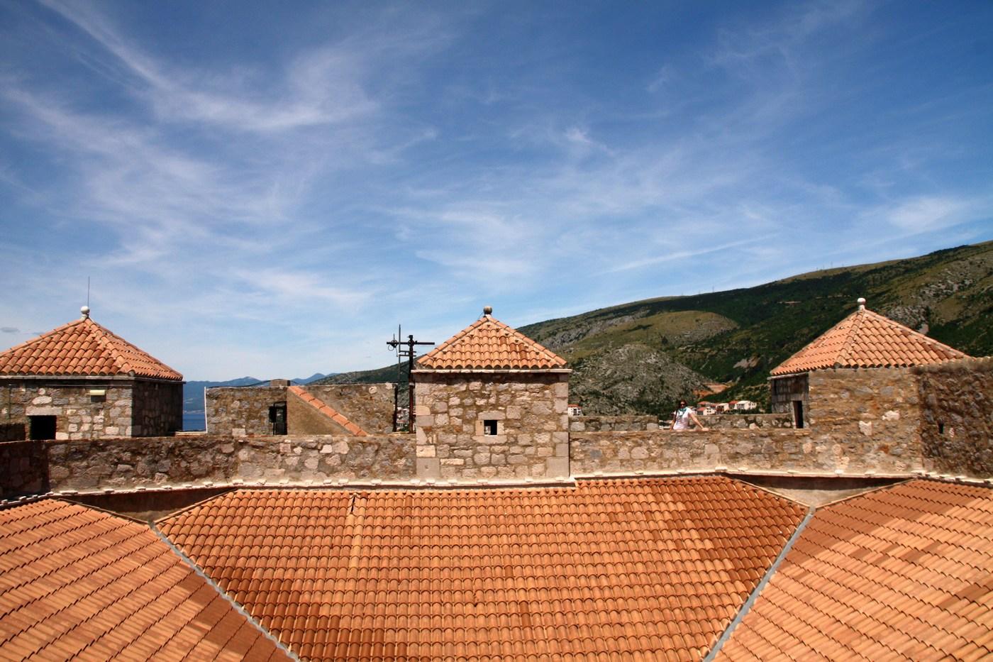 Stražarski stolpi trdnjave Nehaj.